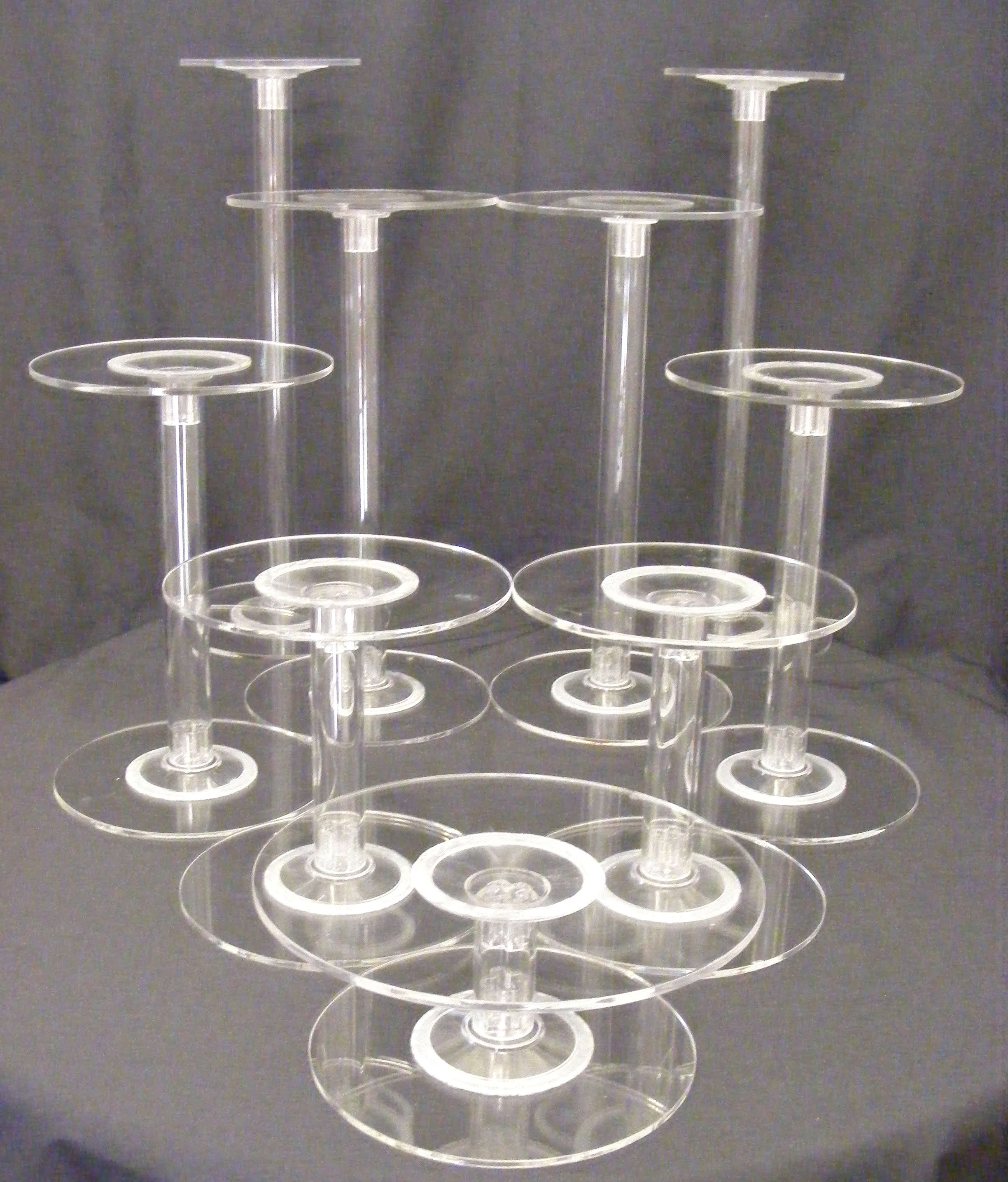 1 10 Tier Cake Stand Flexible Arrangement Hire Barker