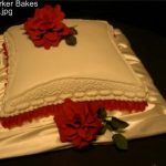1002 1 tier wedding cakes