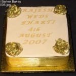 1 tier wedding cakes 1005