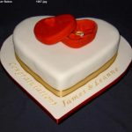 1 tier wedding cakes 1007