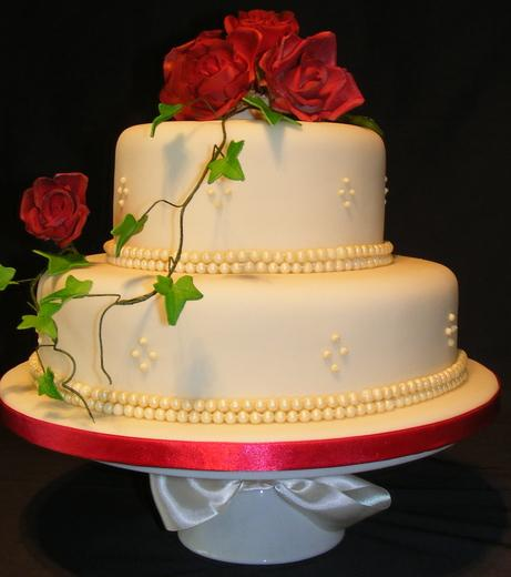 two tier wedding cake stand uk 2 tier wedding cakes barker bakes ltd 21370