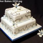 2 Tier Wedding Cakes_2