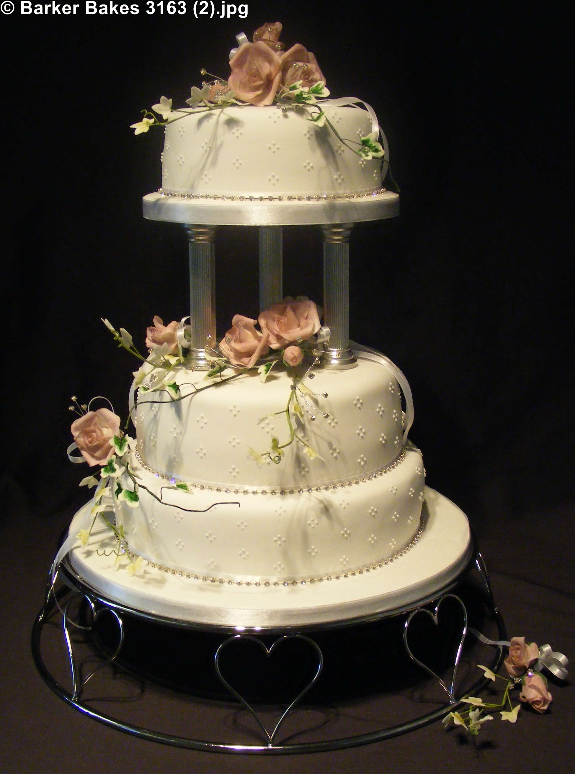 Elegant Wedding Cakes – Barker Bakes Ltd