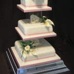 3065 wedding cakes with sugar flowers