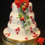 3111 wedding cakes with sugar flowers