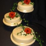 3008 wedding cakes with sugar flowers