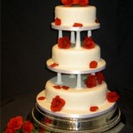 3018 elegant wedding cakes