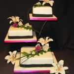 3052 wedding cakes with sugar flowers