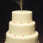 3144 wedding cakes with jewellery