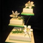 3007 wedding cakes with sugar flowers