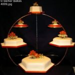 4 Tier Wedding Cakes_9