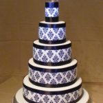 5008_wm - 5 Tier Wedding Cakes