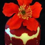 red_rose_mini_cake - Individual Wedding Cakes