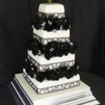 4028 modern wedding cakes, 4_tiers