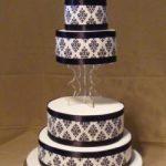 4065_wm modern wedding cakes, 4_tiers
