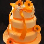 3093 modern wedding cakes, 3_tiers