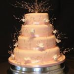 4027 - 4 tier wedding cakes, novelty wedding cakes