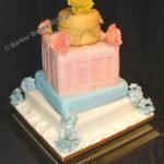 4057_wm - 4 tier wedding cakes, novelty wedding cakes