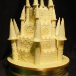 4038 - 4 tier wedding cakes, novelty wedding cakes