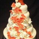 4040_wm 4 tier round wedding cakes