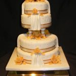 4053_wm 4 tier round wedding cakes