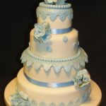 4054_wm 4 tier round wedding cakes