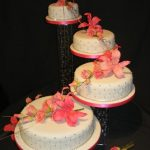 4059_wm 4 tier round wedding cakes
