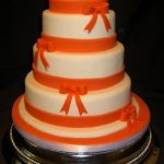 4010 4 tier round wedding cakes