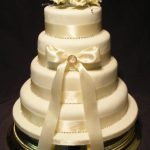 4014 4 tier round wedding cakes